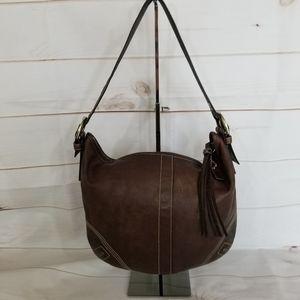 Coach Soho Expresso Leather Hobo Shoulder Bag